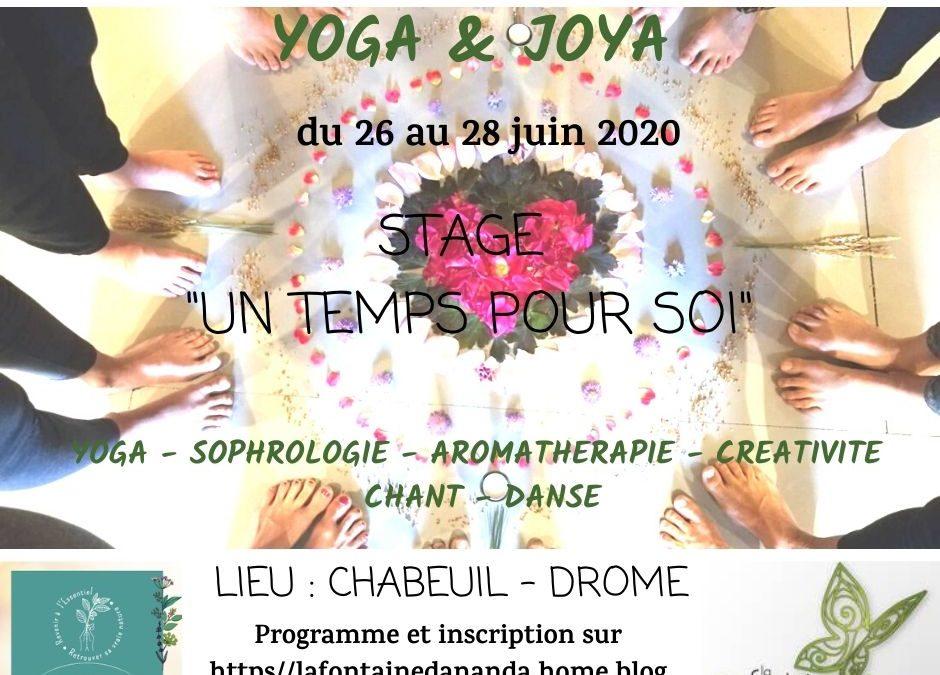 Stage «Un Temps pour Soi»