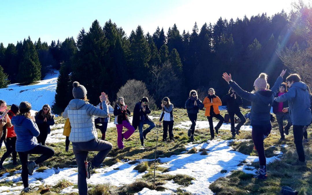 Journée Yoga, respiration & méditation en pleine nature