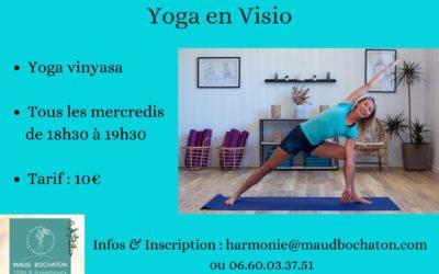 Yoga en visio : click & connect