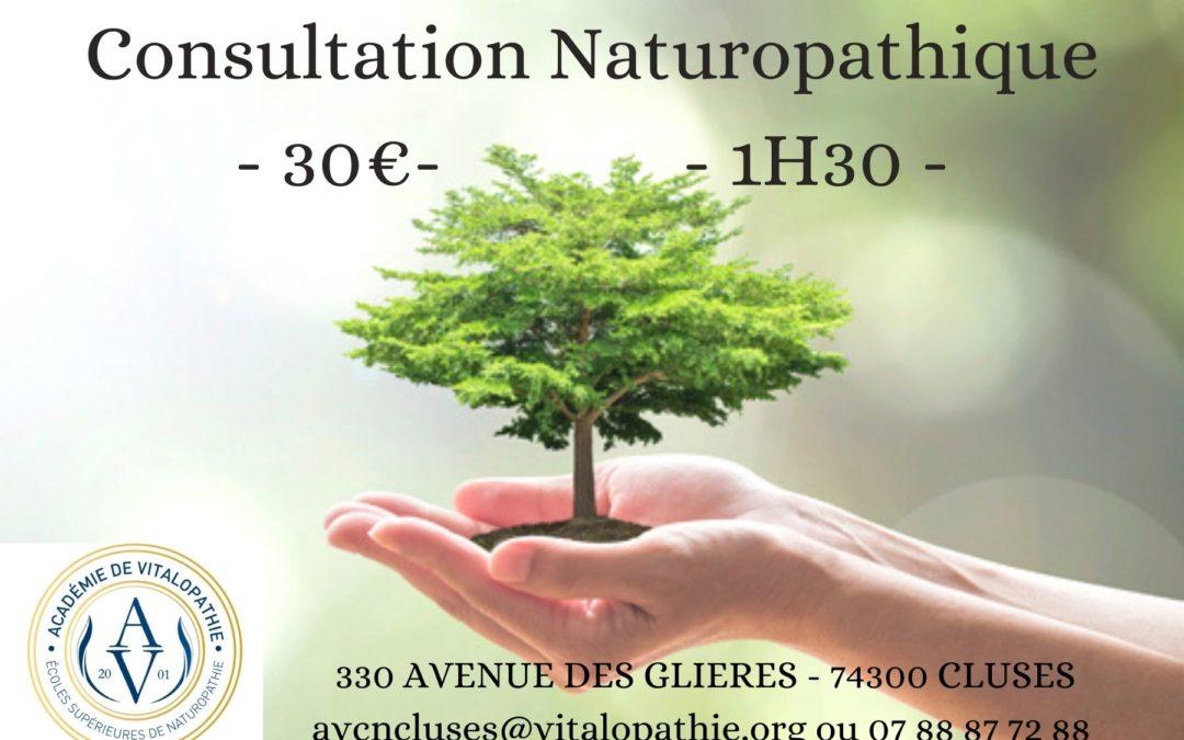 Consultations naturopathiques